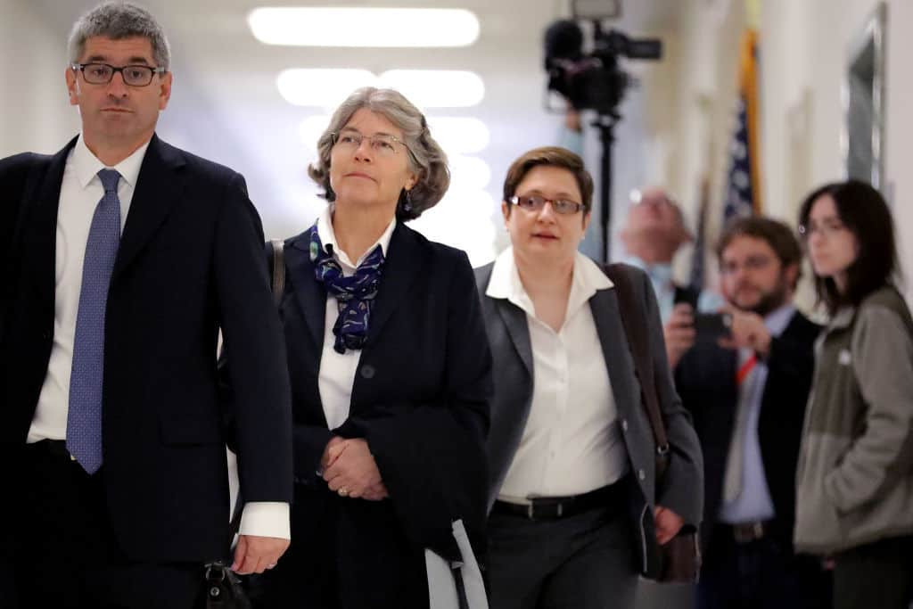 Nellie Ohr Deleted Russia-Related Emails From DOJ Husband Bruce Ohr