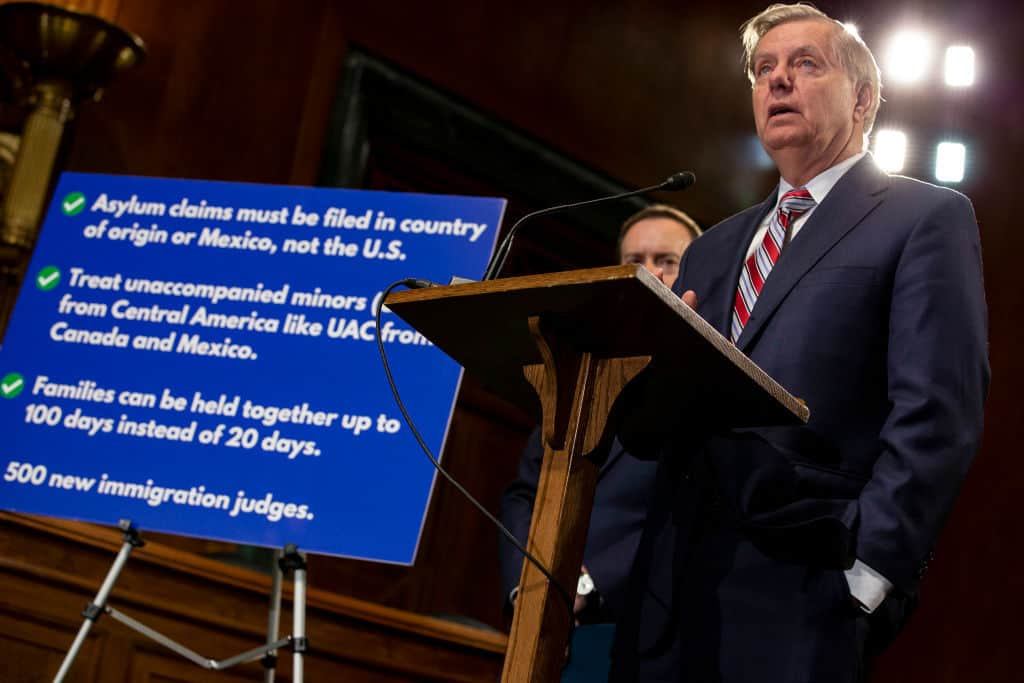 Graham Bill Ends Asylum Claims at Border, Allows for Return of Minors to Home Countries