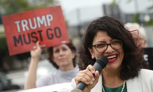 "AUDIO: Rep. Tlaib Says Thinking of Holocaust Gives Her ""Calming Feeling"""