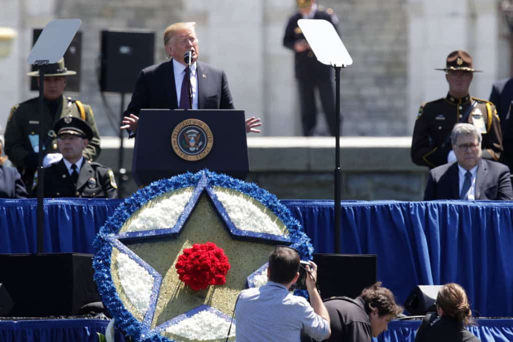 Trump Calls for Death Penalty for Police Killers