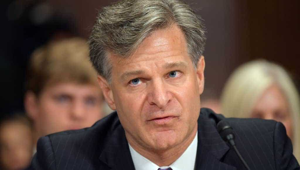 "Trump Slams FBI Director Wray, Says Bureau Has ""No Leadership"""