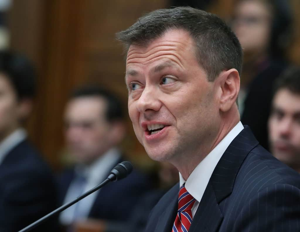 """Strzok Texts Reveal He Believed CIA """"Leaking Like Mad"""""""