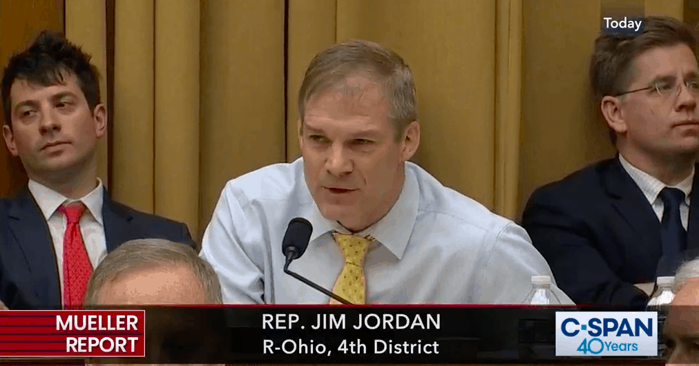 Watch: Jim Jordan's EPIC Rant After Yesterday's AG Barr Contempt Vote