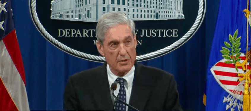 "Mueller Says Charging Trump with Crime ""Not an Option,"" Won't Testify Before Congress"