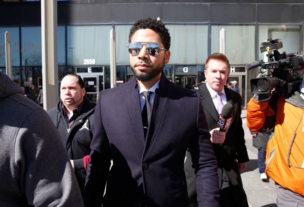 "Far-Left Activists Band Together to Defend ""Innocence"" of Jussie Smollett"