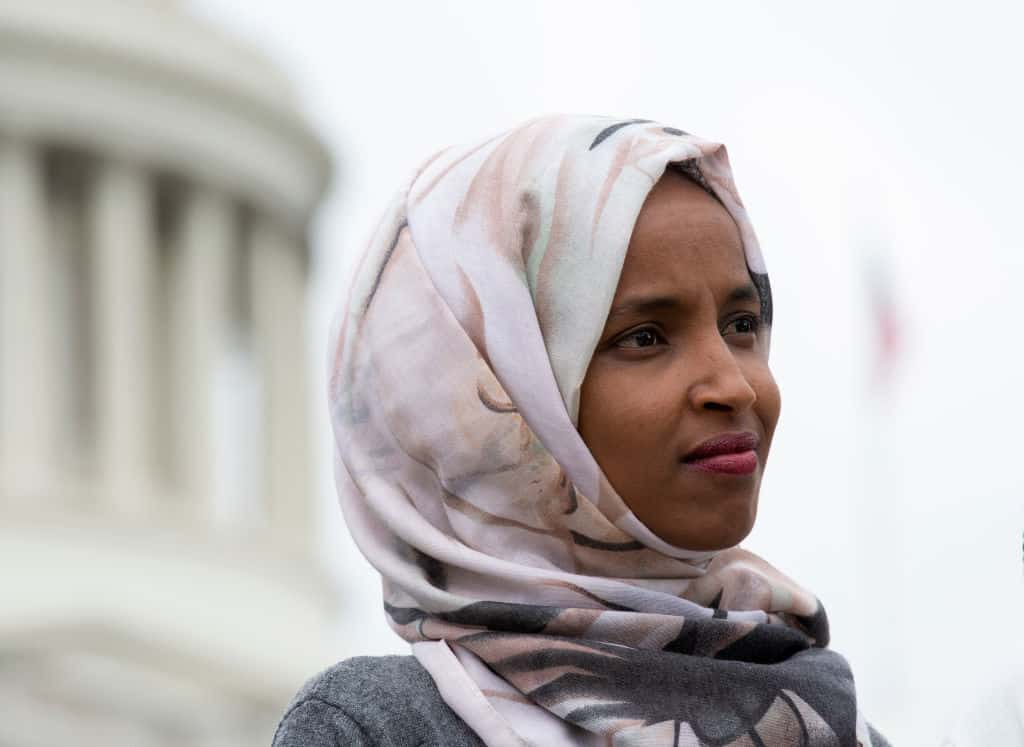 "Omar Slams Trump's Sanctions on America-Hating Iran, Claims Move will ""Starve"" Innocent Iranians"