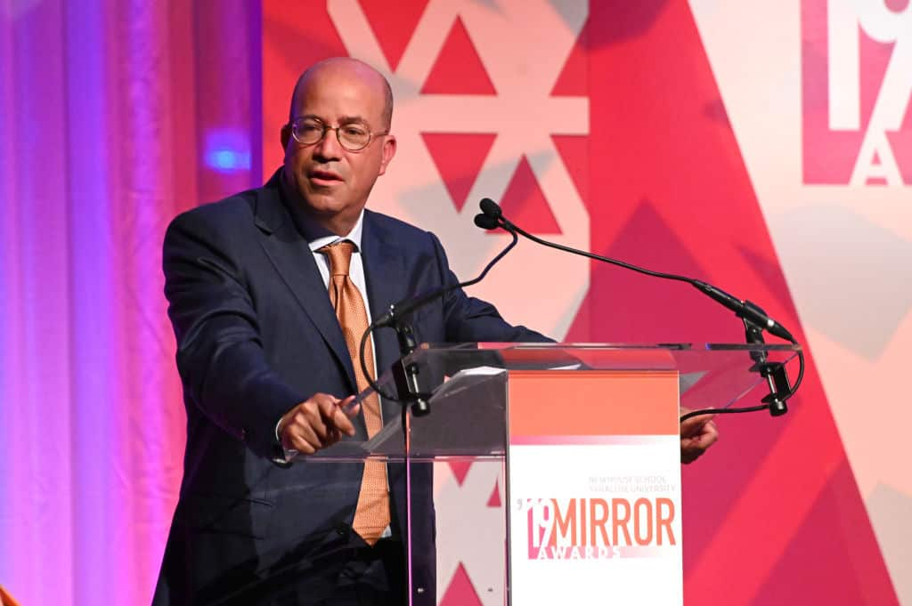 Report: CNN Boss Jeff Zucker Makes Sexual Joke About Anchor