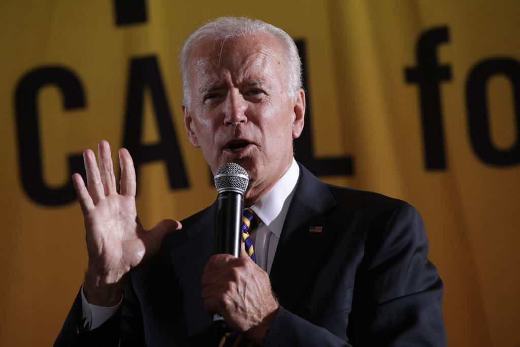 "Biden Defends Removing Statues Over ""Systemic Racism"""