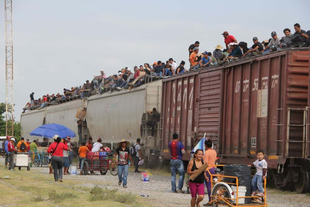 Mexican Military Begins Arresting Migrants Hitching Train Ride to U.S.