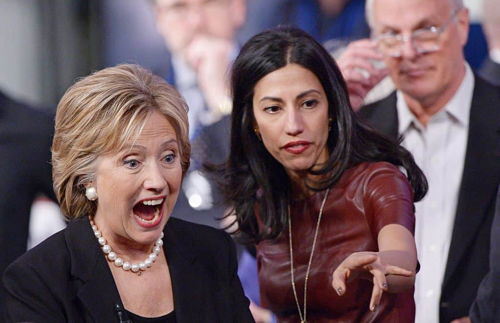 Fmr Clinton Aide Contradicts Abedin, Claims he Worked With her to Set up Private Server