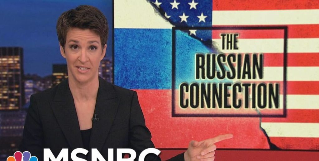 "OOPS: Maddow's Favorite ""Russian Connection"" Turns Out To Be…"