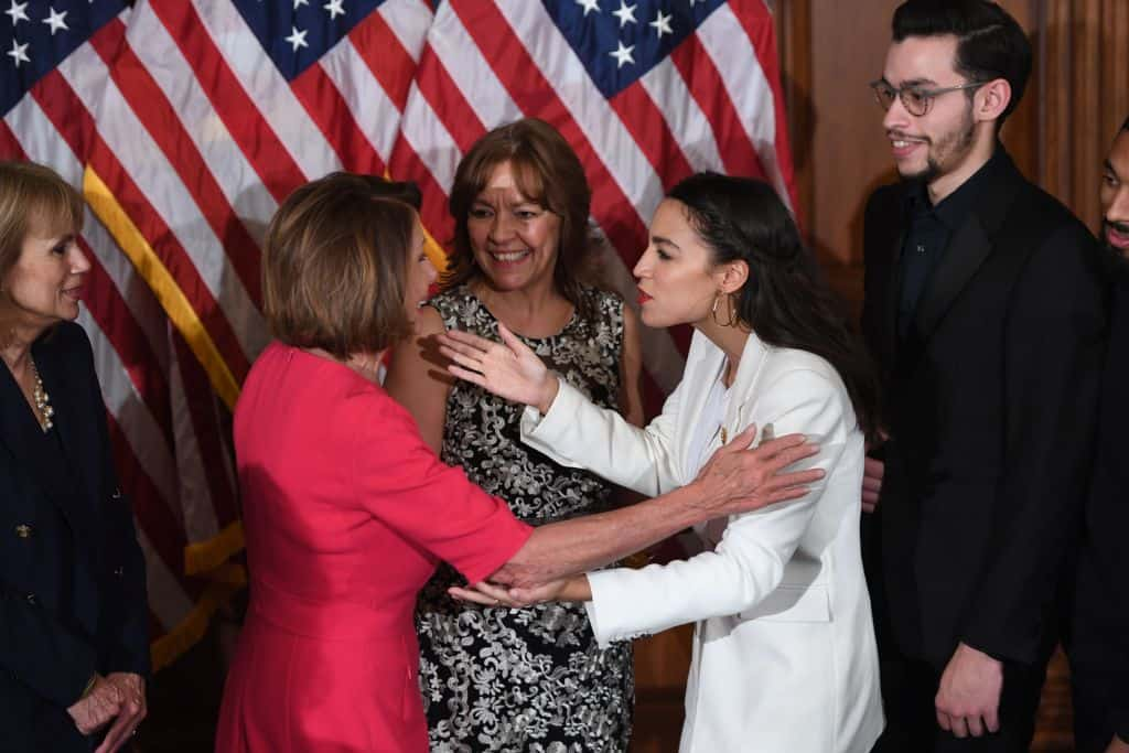 "AOC Implies Pelosi Racist: ""…Signaling Out Newly Elected Women of Color"""