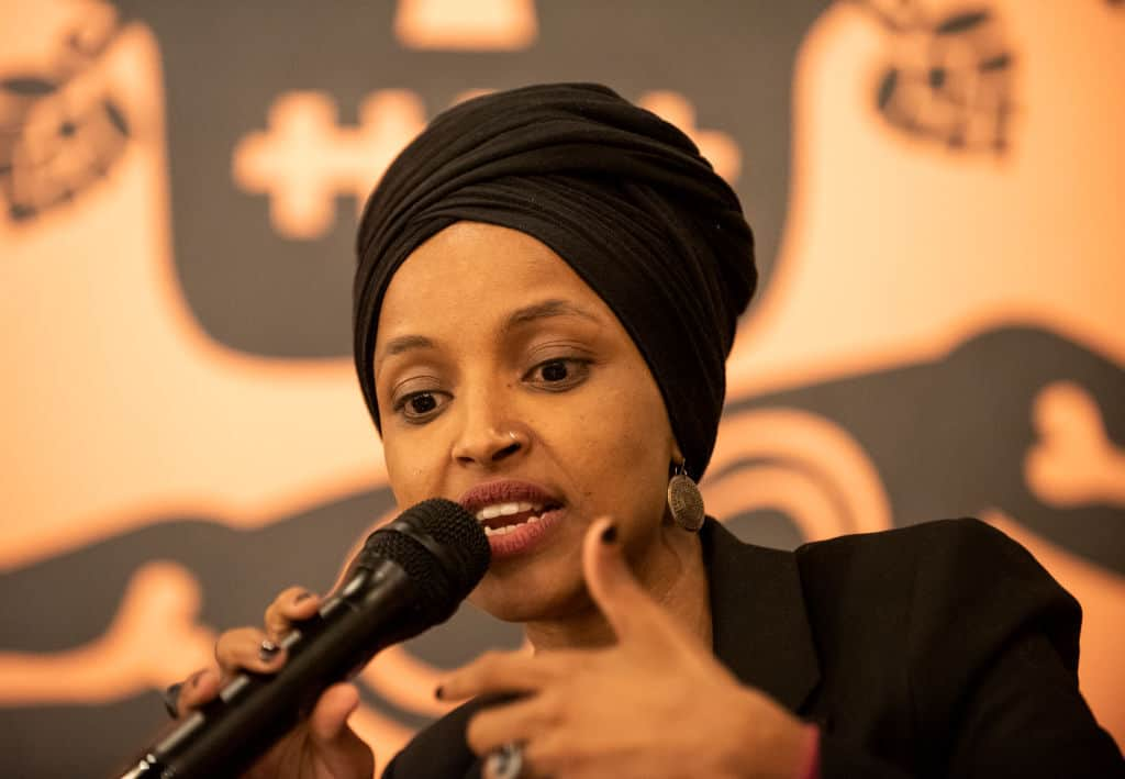 Ilhan Omar's Campaign Committee Pays Nearly 300k to Husband's Firm