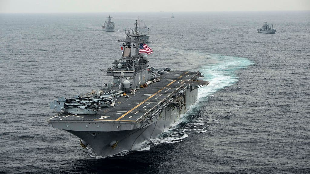 Breaking: Trump Says USS Boxer Destroyed Iranian Drone After Ignoring Stand Down