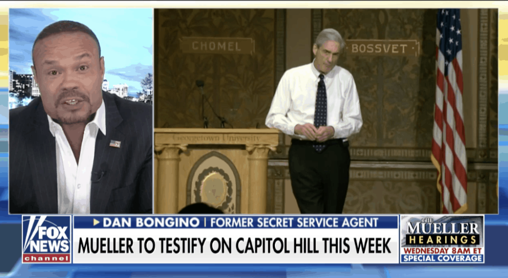 WATCH: Bongino calls Mueller Hearing a 'Golden Opportunity' for Republicans