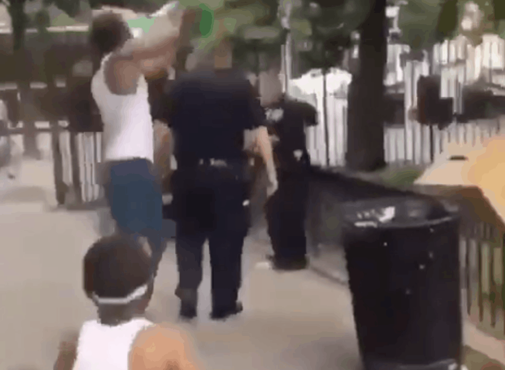 WATCH: CHILDREN Shoot NYPD Officers with Water-guns; Take Turns Dumping BUCKETS of Water