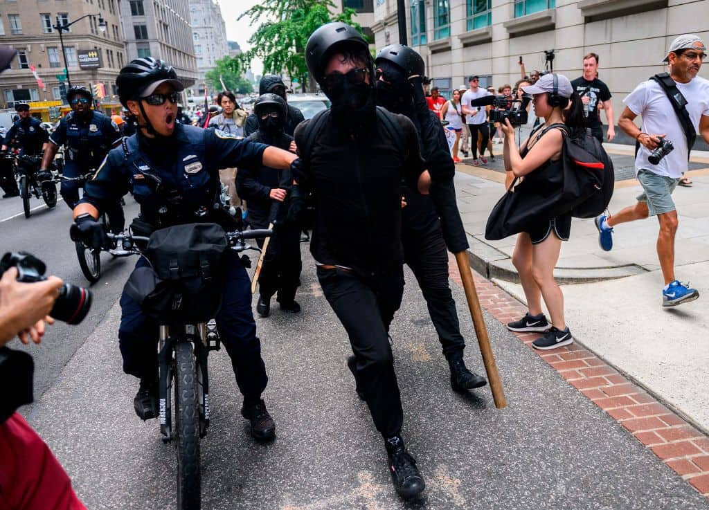 Nearly Half of Voters Say Antifa Is a Terrorist Organization