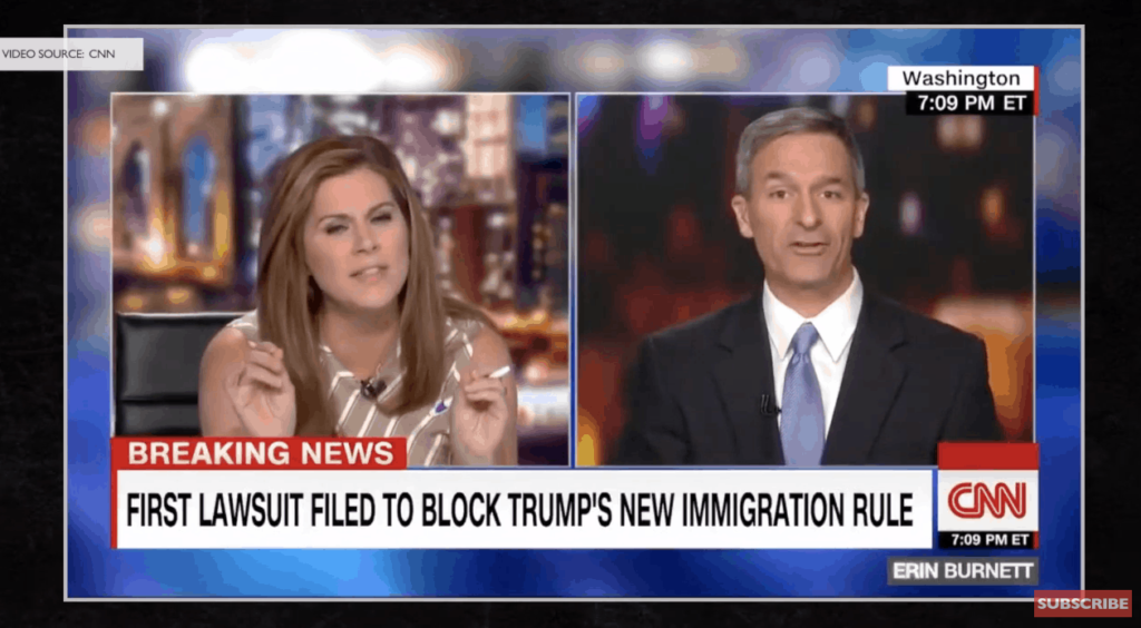 Hat Tip of the Day: Ken Cuccinelli Destroys Erin Burnett and Liberal Lie claiming he 'Rewrote' Statue of Liberty Poem