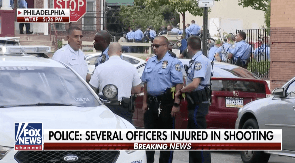 UPDATE: All 6 Officers Wounded in Philly Shootout Released from Hospitals