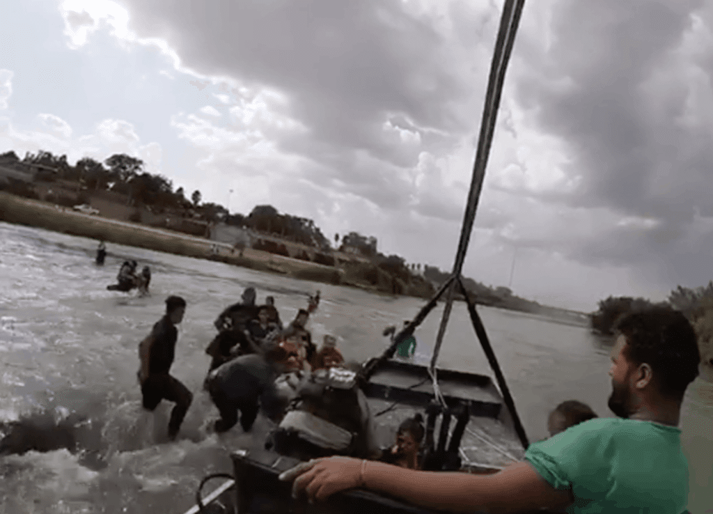 Touching Video Shows Border Patrol Saving Lives of Illegal Immigrants Crossing Deadly River