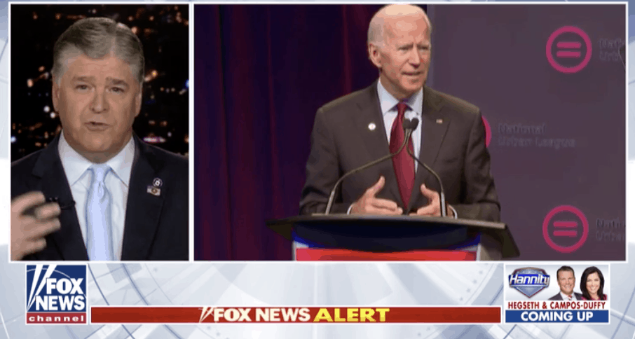 Watch: Hannity Discusses Biden's Blunders on the Campaign Trail