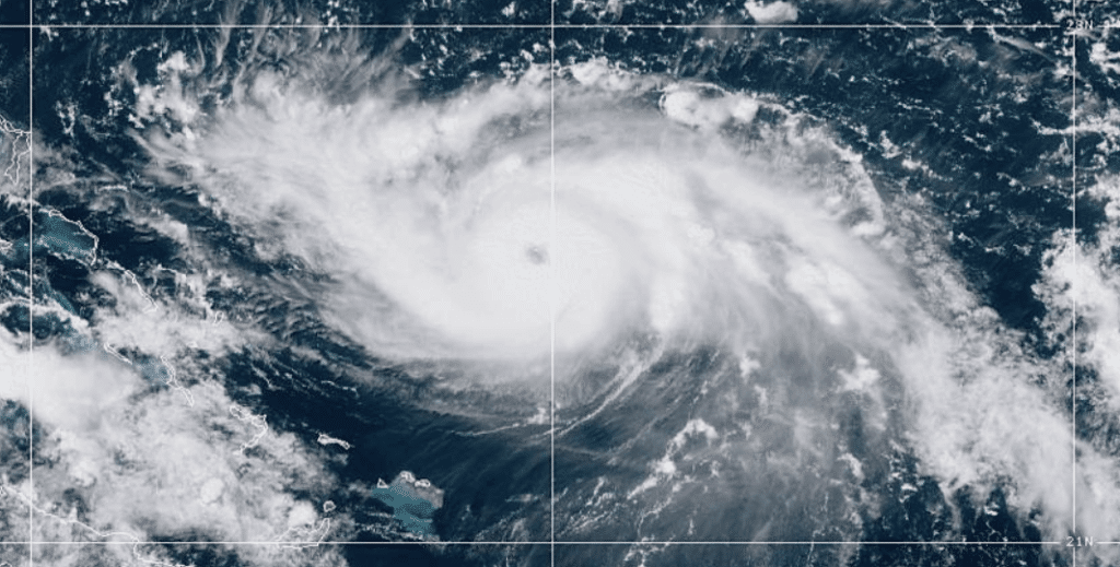 Developing: Hurricane Dorian Becomes Category 3 Storm as Winds Sustain 115mph