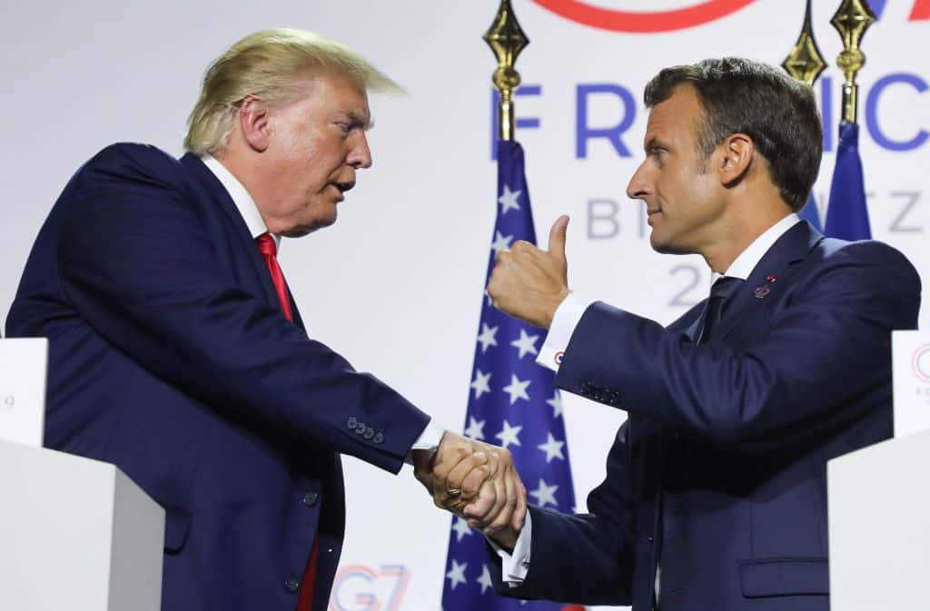Breaking: Trump and Macron Talk China, Iran in Joint News Conference as G7 Summit Wraps