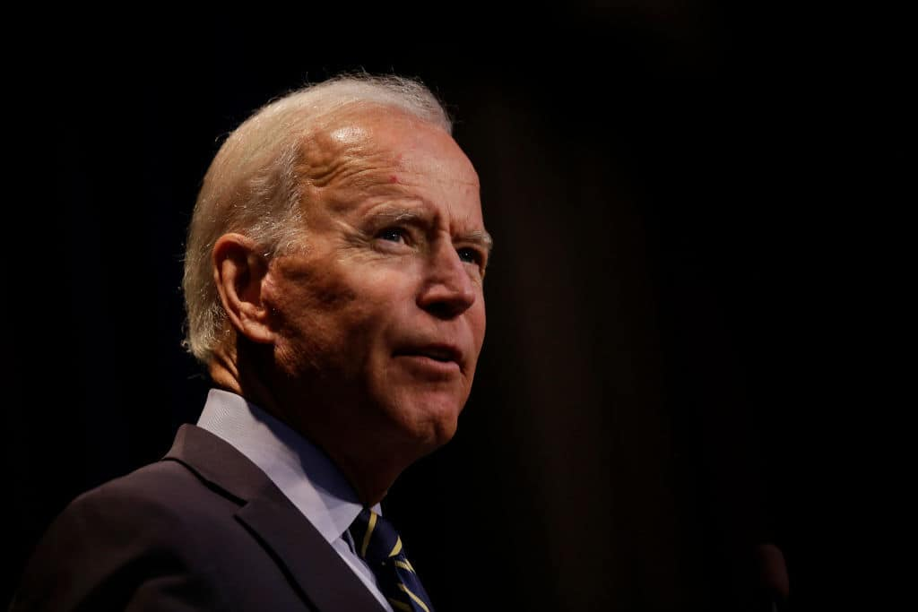 "Biden Says He Wants a ""Strong"" VP ""Ready to Be President on Day One"""