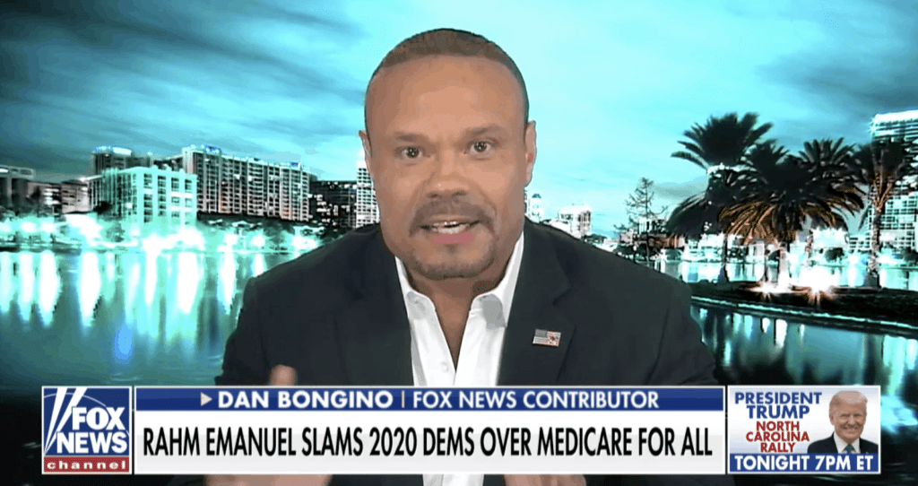 "Video: Bongino on ""Fox and Friends"" Explains Why Idiotic Dem 2020 Promise of Medicare for all will NOT Work"
