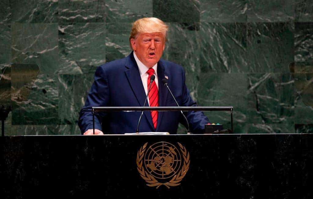 VIDEO: Trump Delivers Groundbreaking Speech to United Nations