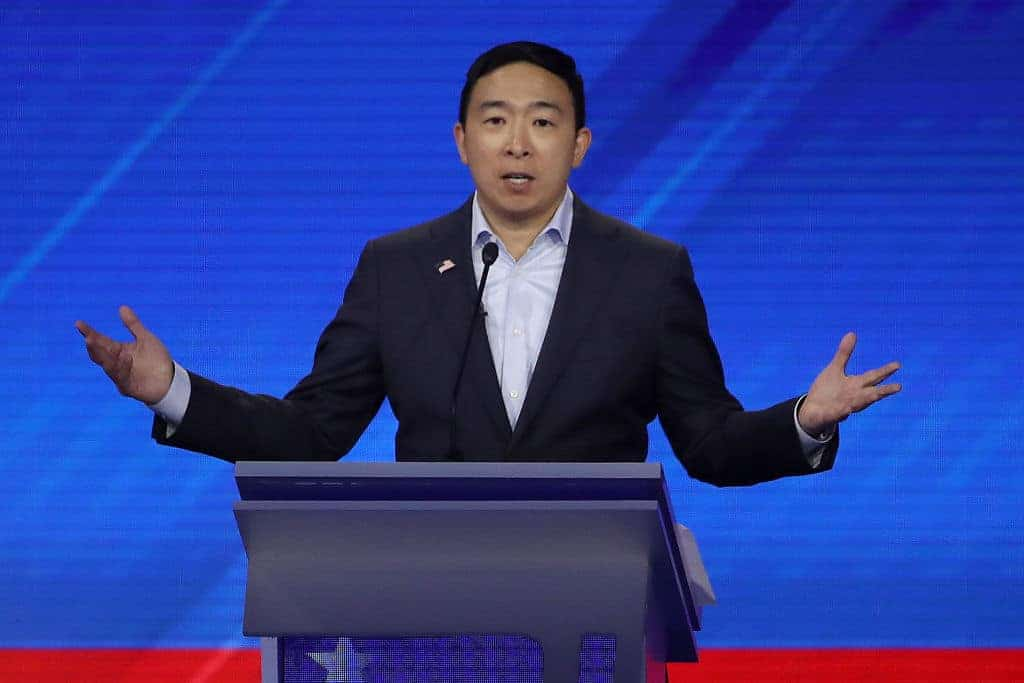 2020 Hopeful Yang Wants to Eliminate Car Ownership to Combat Climate Change