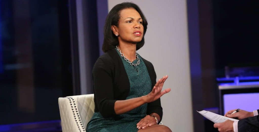 Condoleezza Rice Brilliantly Shuts Down Savannah Guthrie When Asked if Russia Elected Trump