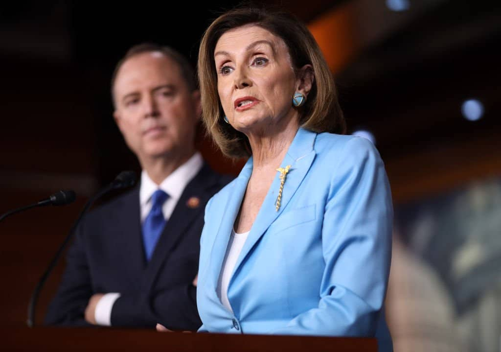 "Trump Unleashes on ""Crazy Nancy,"" Calls Democrats ""Liars"" for their Rush to Impeach Him"