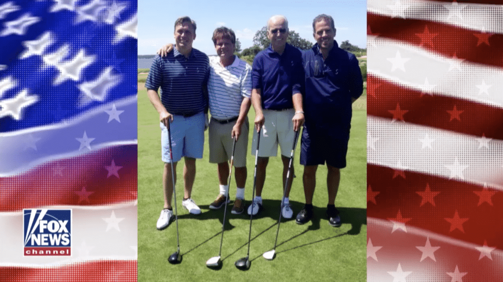 A Pic is Worth a Thousand Words: Joe Biden Golfs with Son Hunter and Ukraine Business Partner