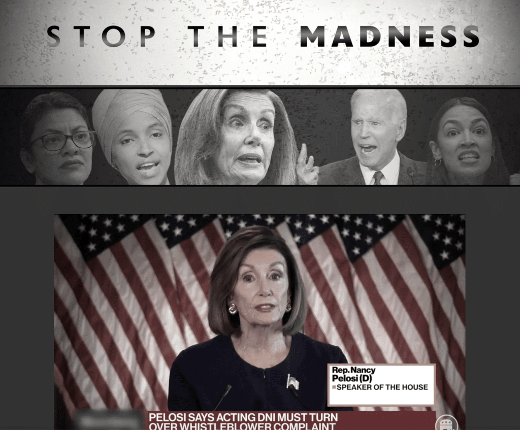 RNC Launches 'Stop the Madness' Anti-Impeachment Campaign to Bring 'Chaos' to Dems