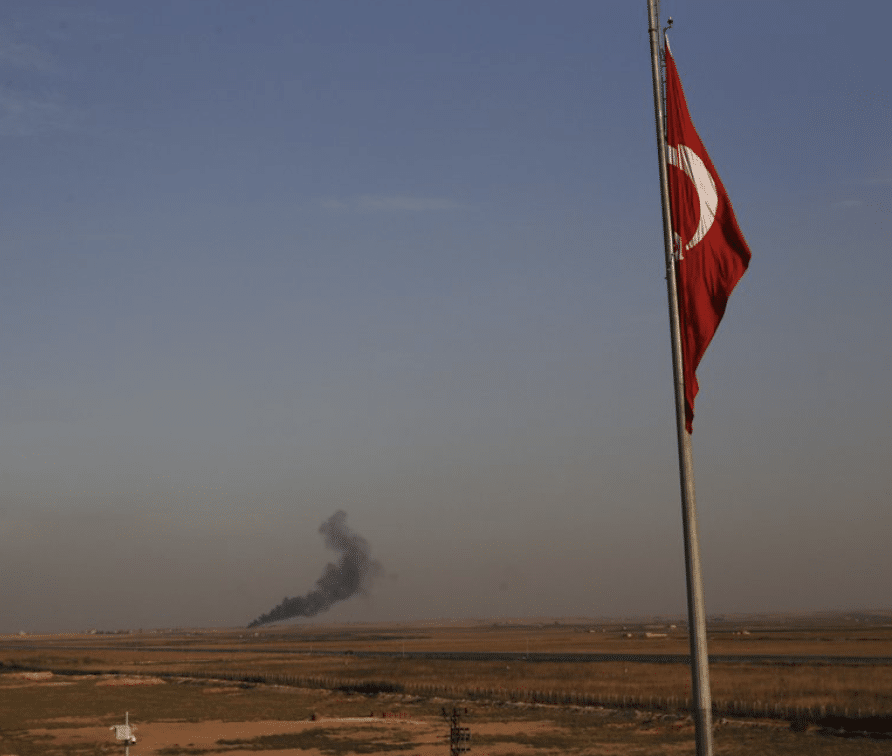 BREAKING NEWS: Turkish Ground Forces Cross Border into Syria