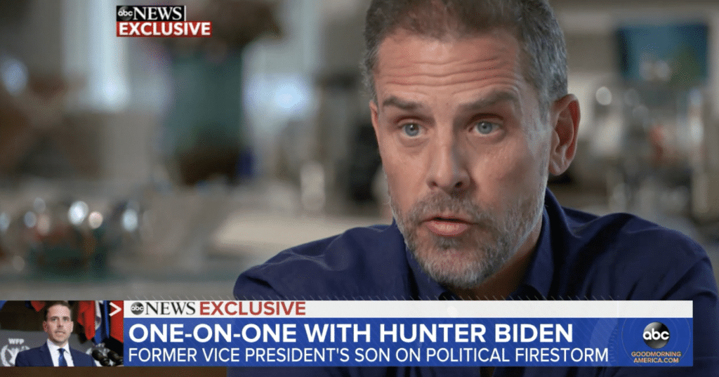 Hunter Biden's Bomb: 'A Lot of Things Wouldn't Have Happened If My Last Name Wasn't Biden'