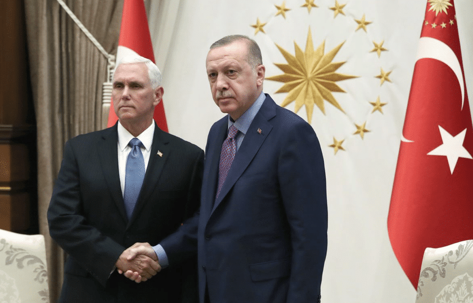 BREAKING: After 5 Hours of Negotiations, Pence Announces 'The United States and Turkey Have Agreed to A Ceasefire in Syria'