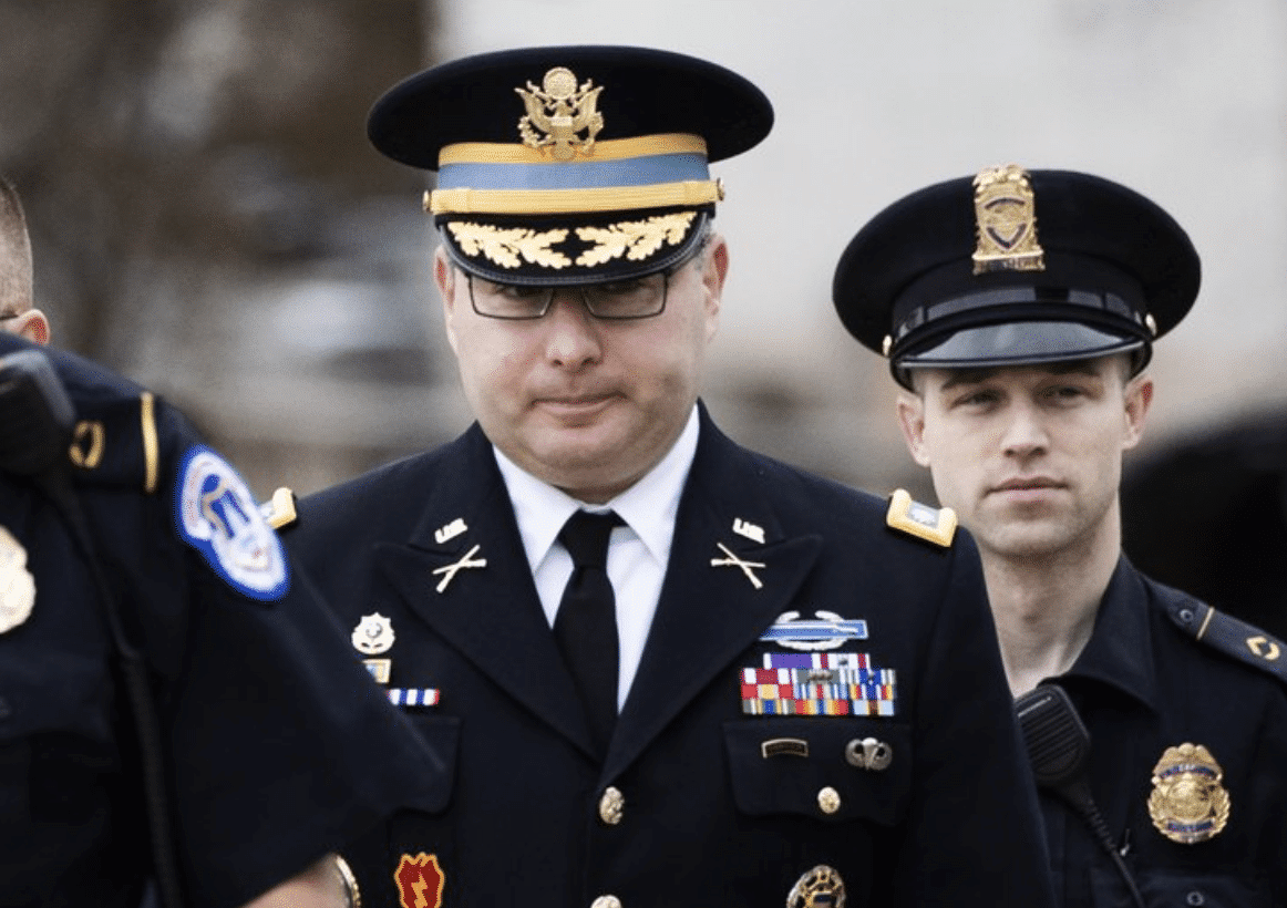 Impeachment Witness Colonel Vindman Will Retire From Military