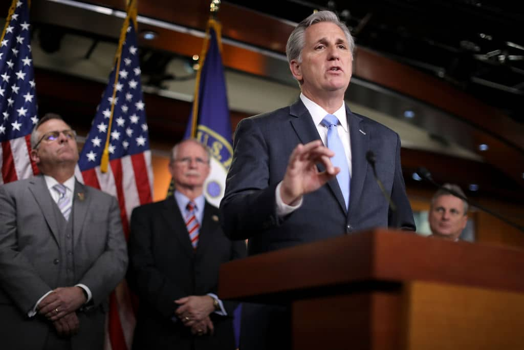 Kevin McCarthy Threatens Motion to Remove Pelosi as Speaker If She Pushes for Impeachment Again