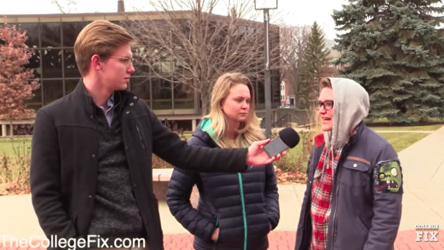WATCH: College Students Slam Thanksgiving, Claim Holiday Shouldn't be Celebrated