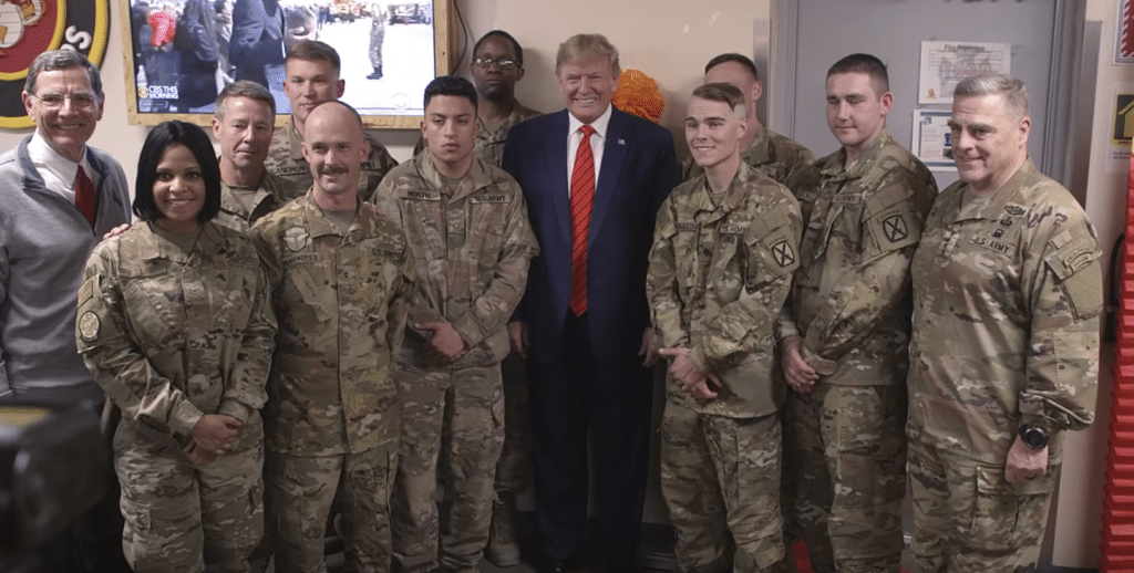 After Afghanistan Trip, Trump Slams Newsweek for Article Claiming he was Golfing and Tweeting  During Thanksgiving