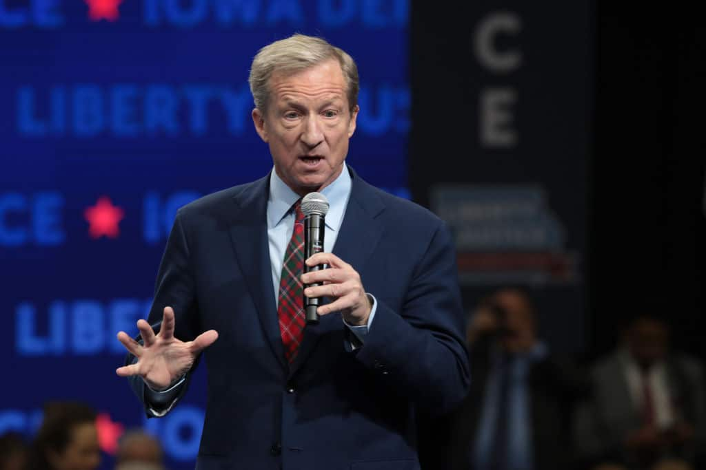 Tom Steyer Proposes $22 Minimum Wage