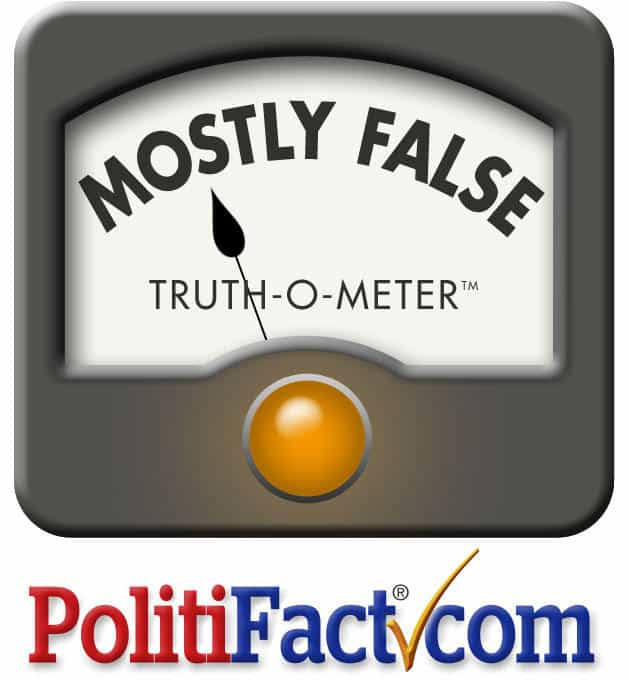 Politifact Was Just Caught Lying Again