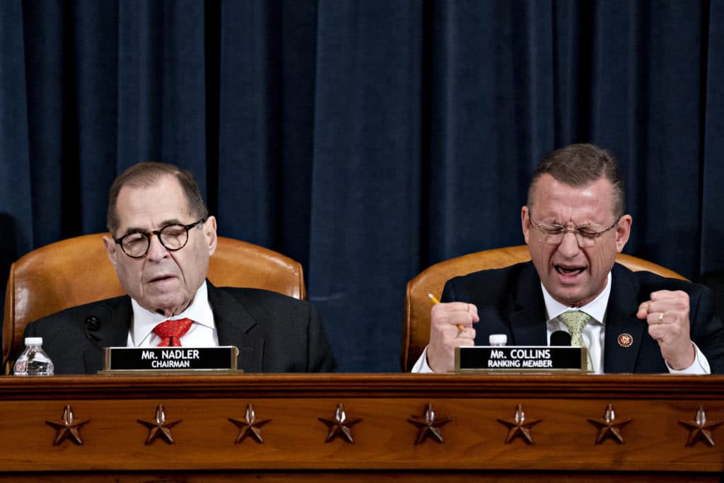 WATCH: Fireworks at Judiciary Hearing as Nadler Delays Committee Impeachment Vote