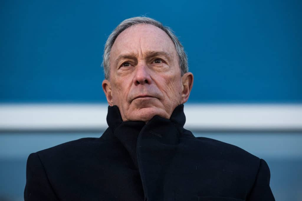 "Report: Bloomberg Now ""Highest Spending Presidential Candidate"" Ever"