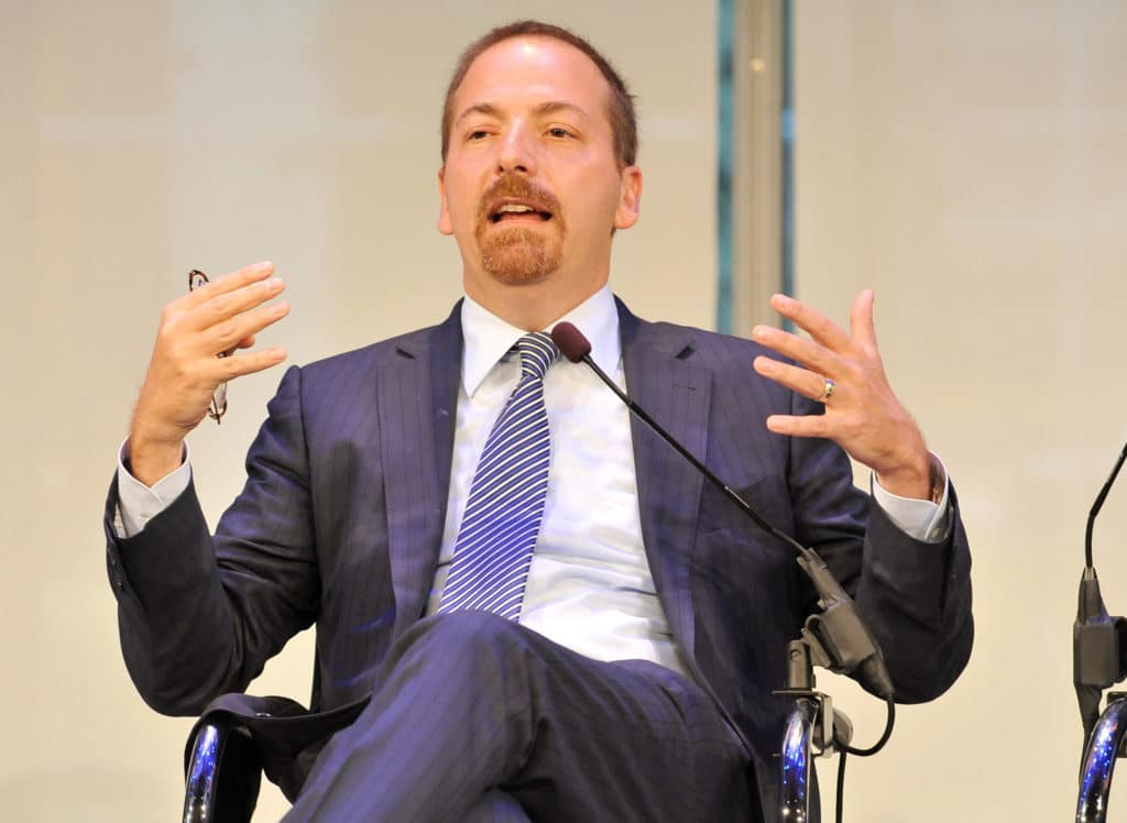 "Leftist Chuck Todd Highlights ""Fascinating"" Letter Mocking Trump Voters as Believers in ""Fairy Tales"" like Noah's Ark"