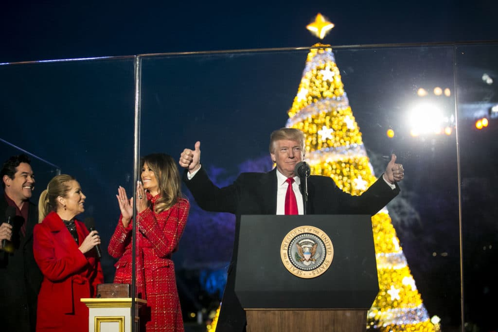 "Merry Christmas: Trump Crushes Top Dems in Latest ""Electability"" Poll"