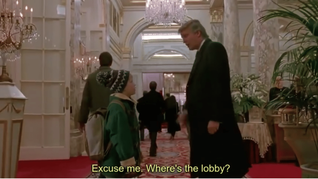 "Really? Trump Cameo Cut from Christmas Broadcast of  ""Home Alone 2"""