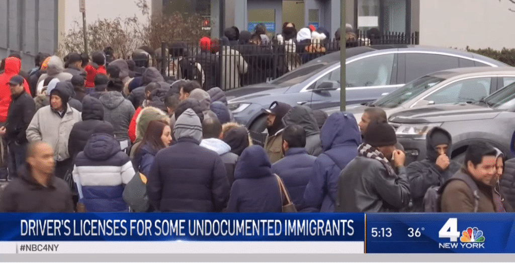 NY DMVs Still Overwhelmed Weeks After Giving Illegals Licenses